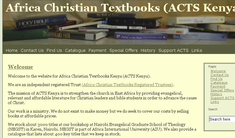 ACTS - Africa Christian Textbooks