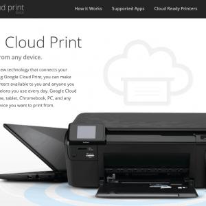 Powered by Google Cloud Print